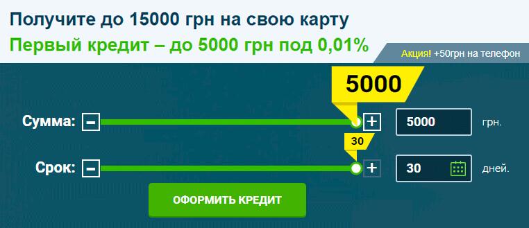 MoneyVeo увеличивает до 5000 гривен сумму первого займа